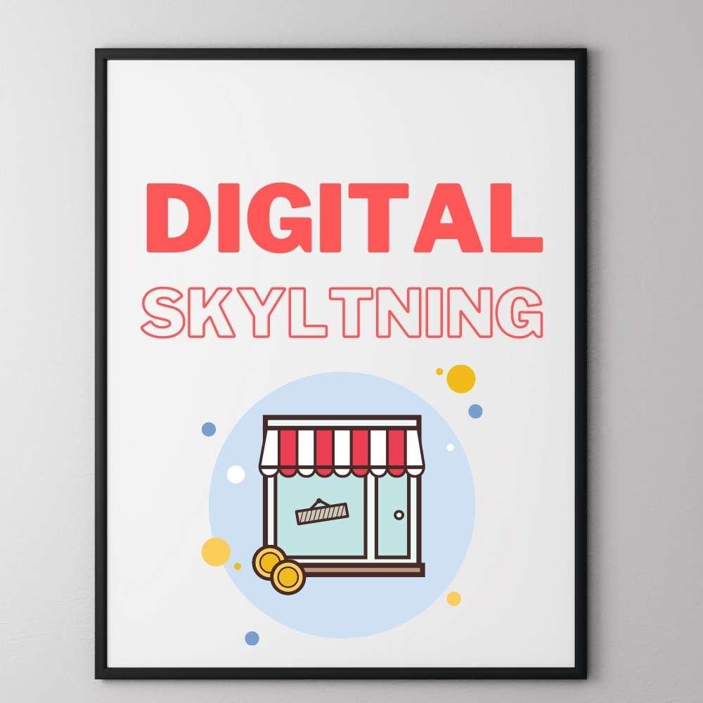 Så här fungerar digital skyltning